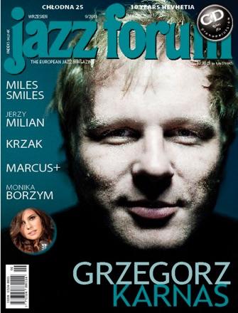 Grzegorz Karnas jazz forum portfolio do wywiadu www.kubaociepa.pl/podcast009