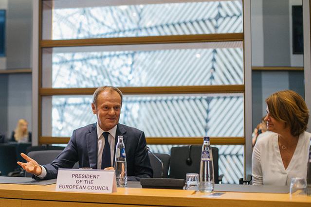 Donal Tusk w komisji europejskiej