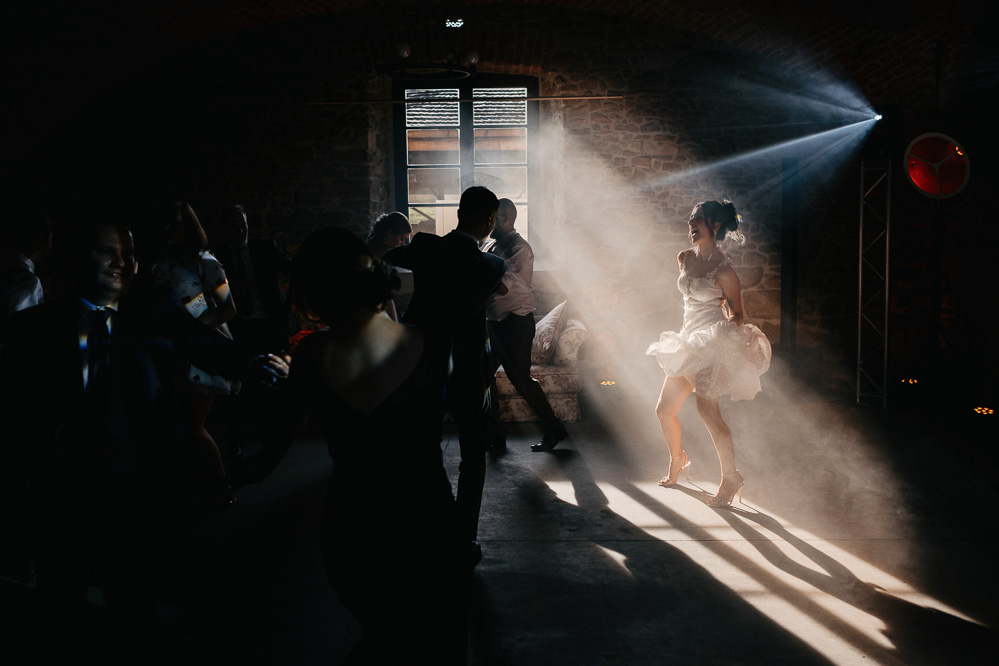 seksowny taniec panny młodej